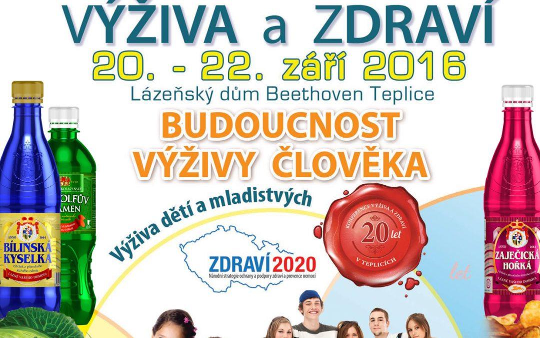 20. jubilejní celostátní konference VÝŽIVA A ZDRAVÍ