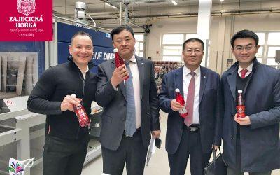 17. listopadu jsme přivítali milou návštěvu našich partnerů z Číny