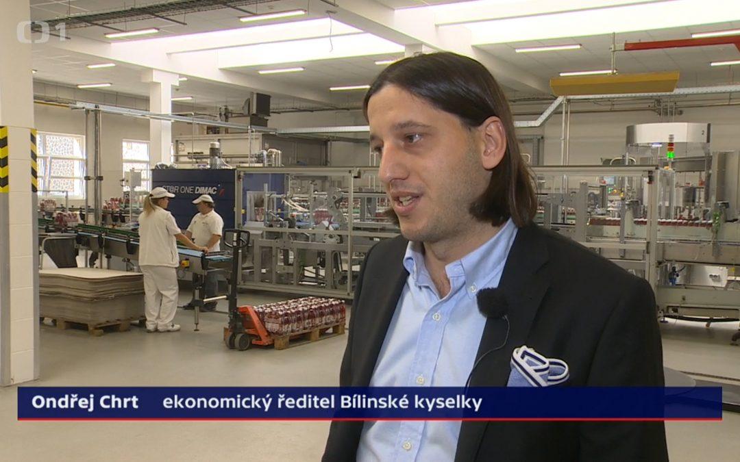 Ředitelsví zřídel Bílina v pořadu České televize